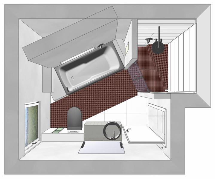 Dusche Unter Dem Dach : Projekte